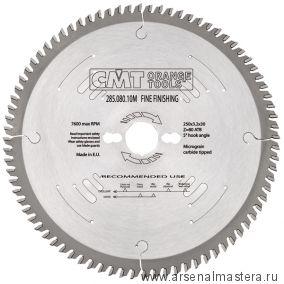 CMT 285.108.14R Диск пильный поперечное пиление 350x35x3,5/2,5 5гр 15гр ATB Z108