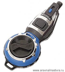 Отбивка чернильная (отбивочный шнур) Shinwa 20м синий корпус Pro Plus, автоматический возврат нити М00013234