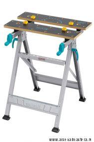 Универсальный складной верстак (зажимный стол) 645x450x800 Wolfcraft Master 200