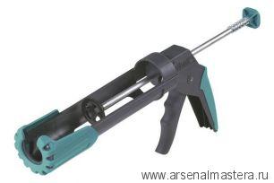 Пистолет для герметика механический с толкателем без курка с поворотным держателем MG 200 ERGO  Wolfcraft