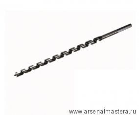 Экстрадлинное сверло шнековое для сверления сквозных и глухих отверстий в мягкой и твердой древесине Star-M N400L D22х400/300мм М00013092